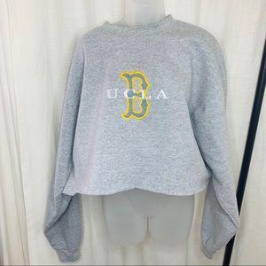 Adidas UCLA Bruins Cropped Sweatshirt!